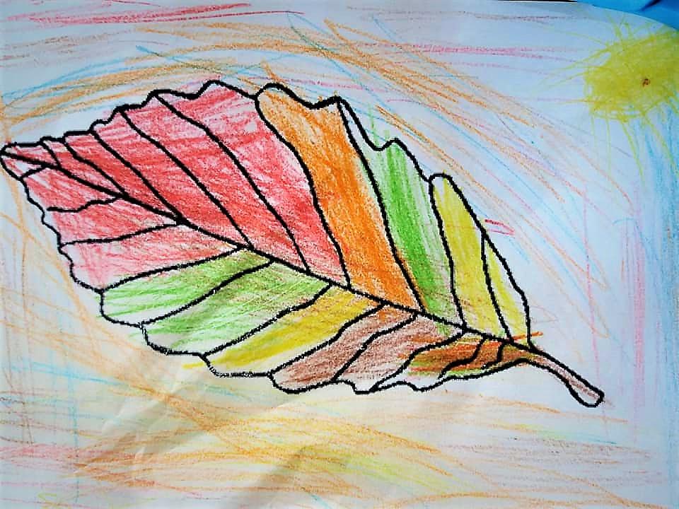 Foaie colorata de copil. Copiii repetenti