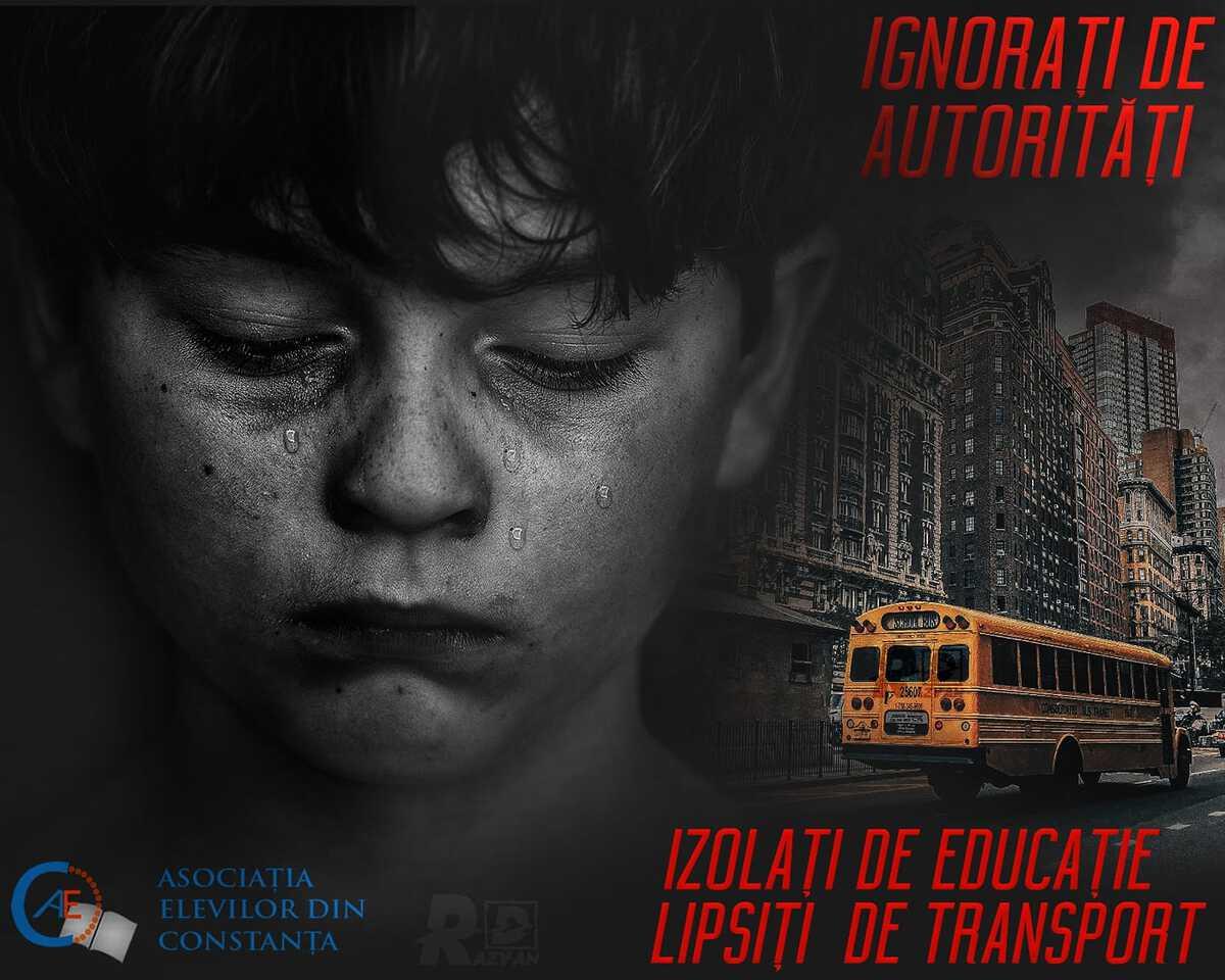 Copii izolați de educație - Naveta si transportul scolar