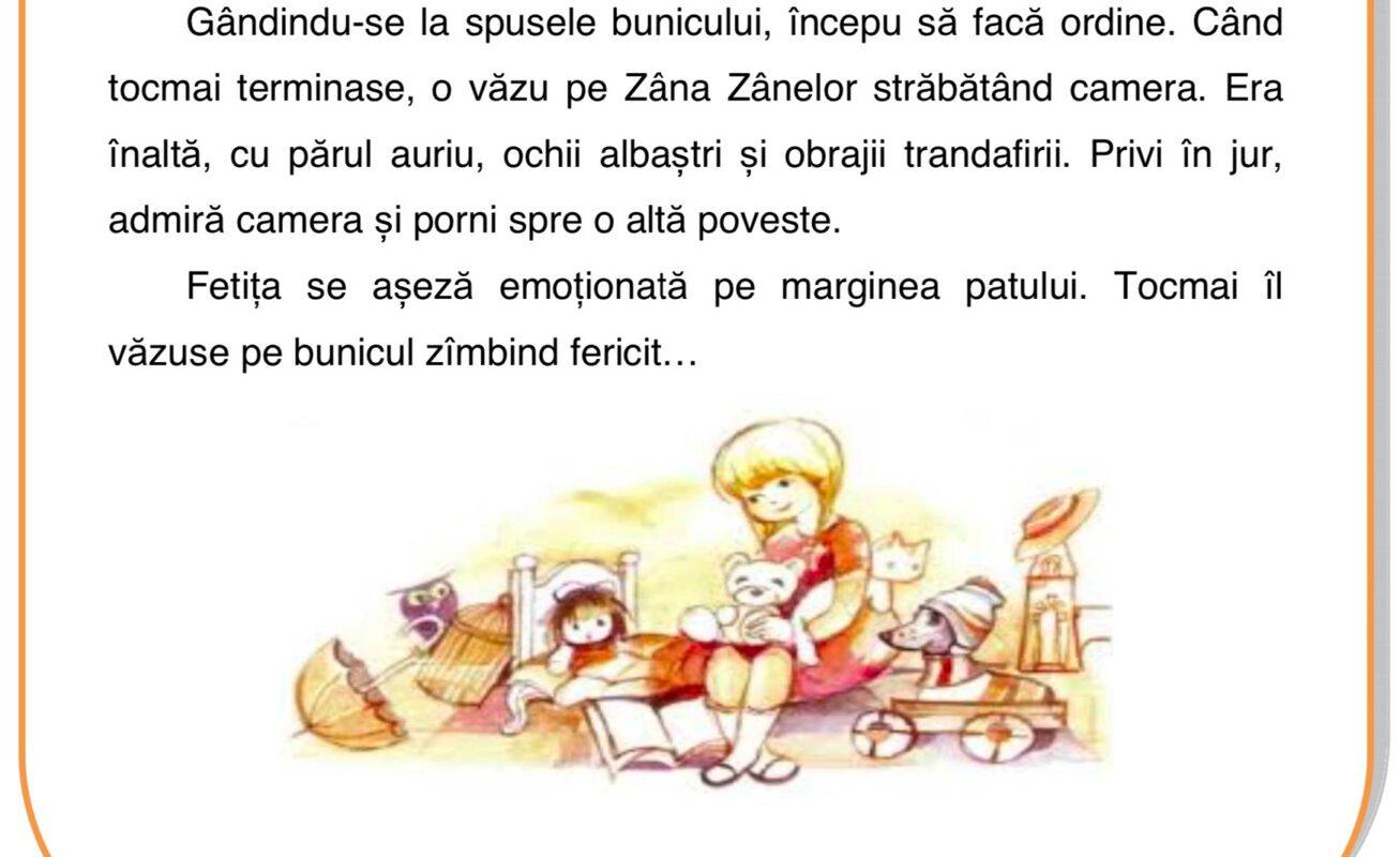 Subiecte clasa a II-a Română Citit