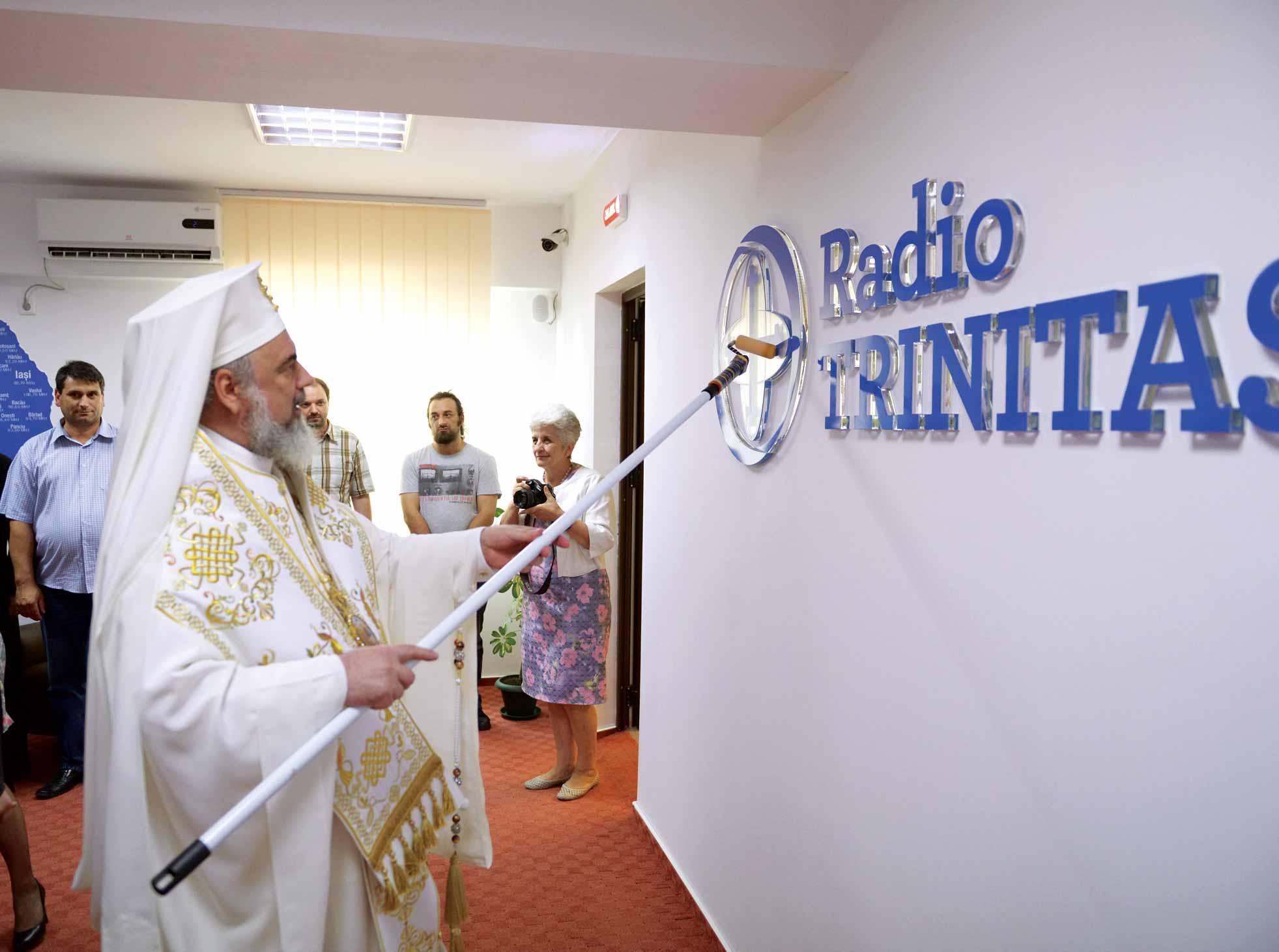 Patriarhul Daniel la Trinitas