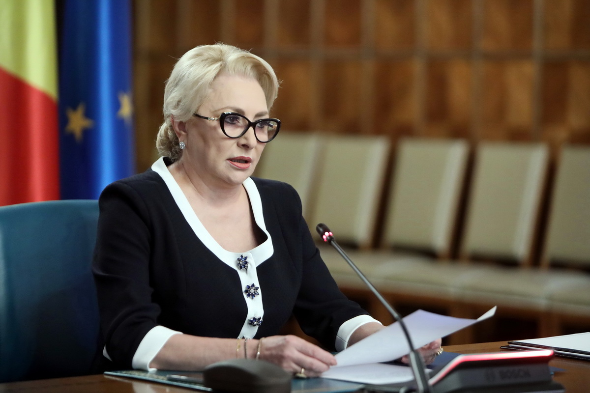 VIDEO Premierul Dancila: