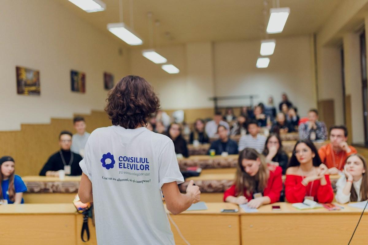 elevi Consiliul National al Elevilor FOTO CNE