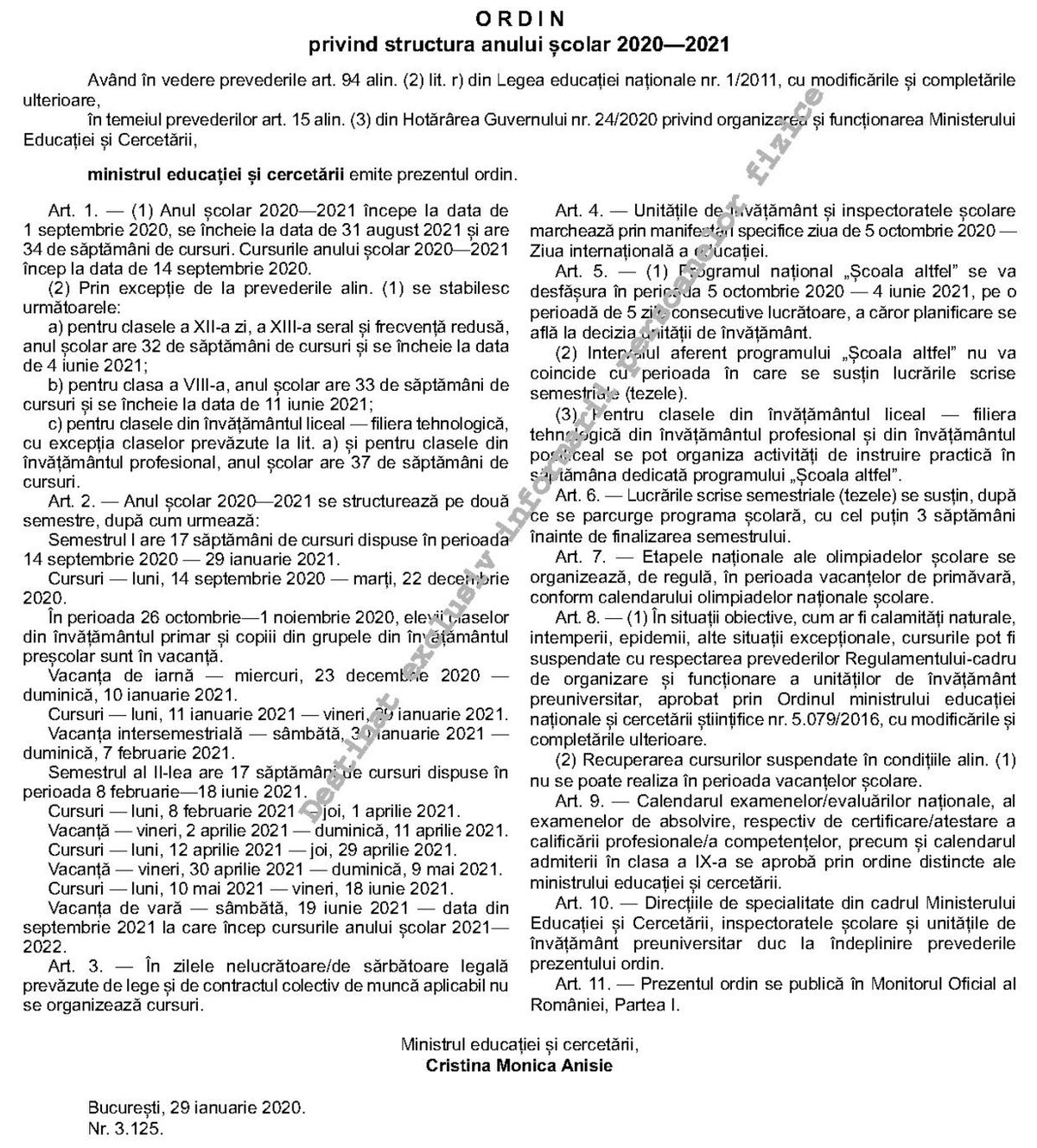 btc 2021 a doua semestru data examenului)