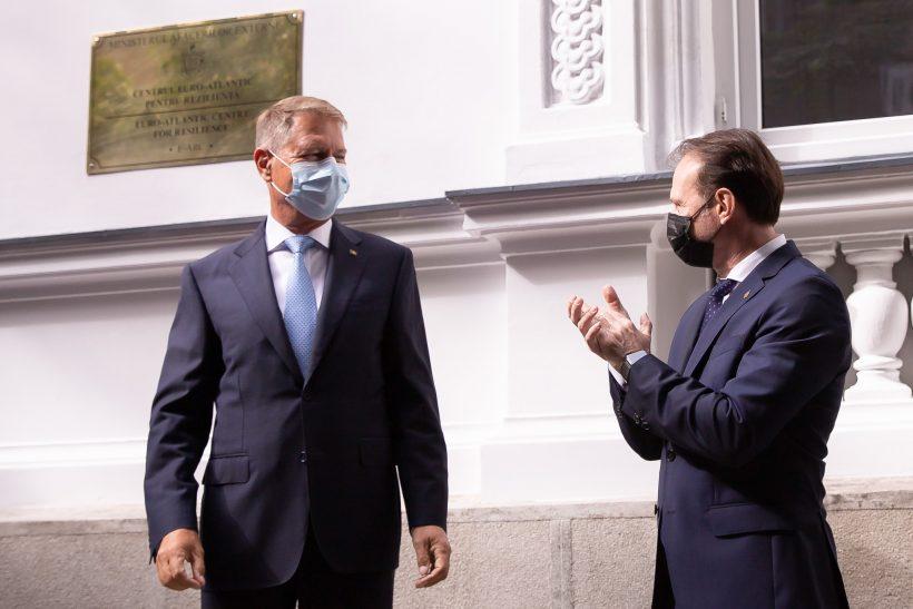 Klaus Iohannis si Florin Citu / Foto: gov.ro