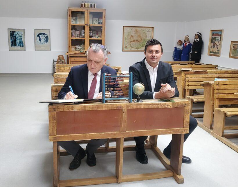Silviu Iordache si Sorin Cimpeanu in iunie 2021 / Foto: Facebook.com/Iordache Silviu