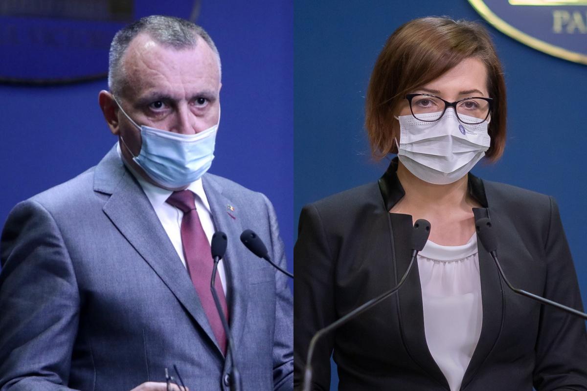 Sorin Cimpeanu si Ioana Mihaila gov ro