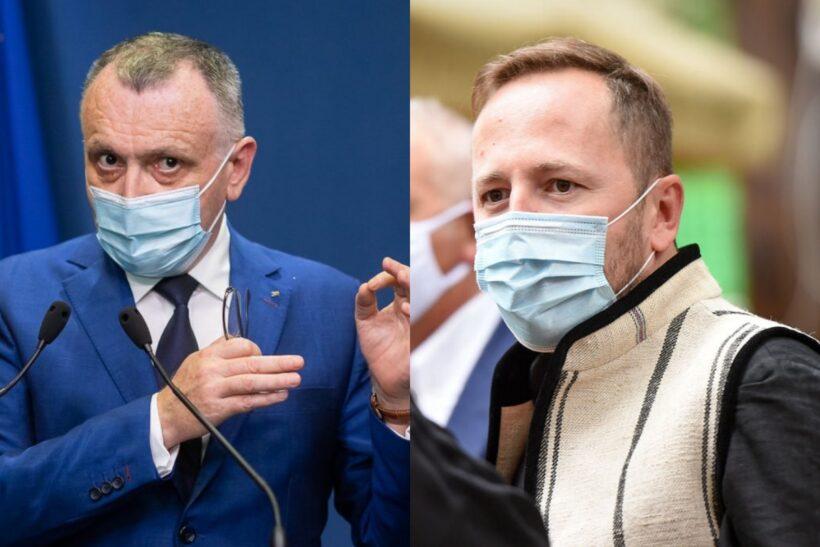 Sorin Cîmpeanu și Radu Szekely / Colaj foto: gov.ro, Doria Dragusin - Merito