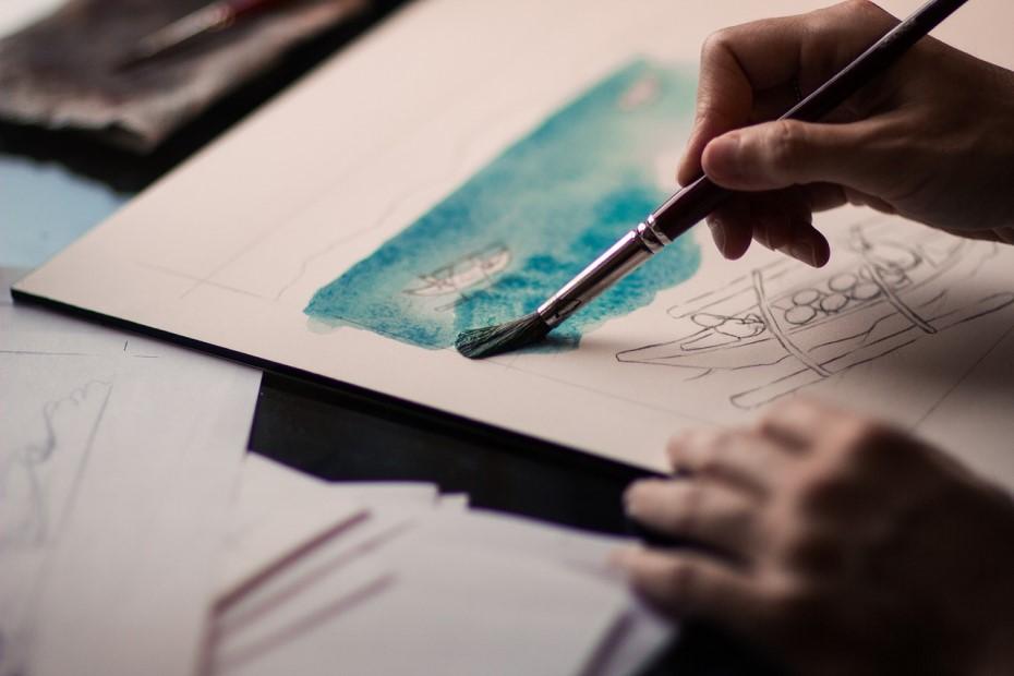 hands picture desen painting cultura la duba